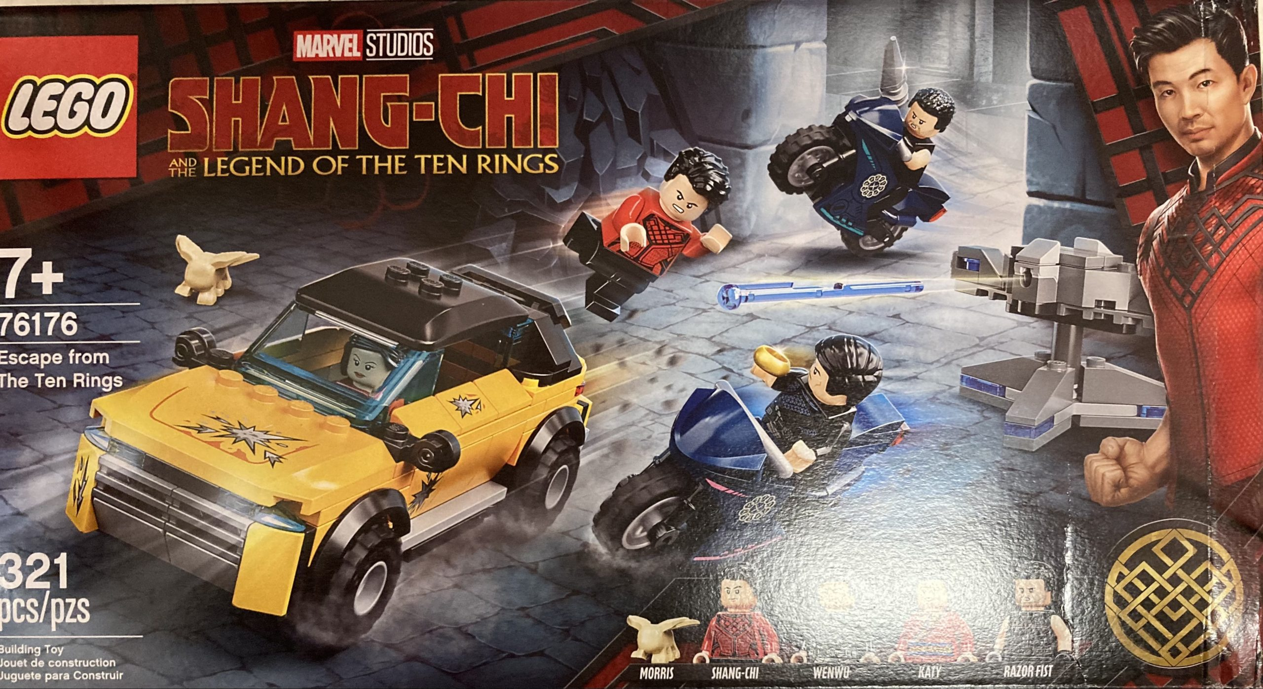 Shang-Chi LEGO with Morris