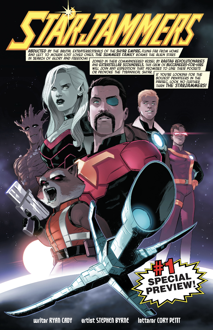 Starjammers #1 Special preview