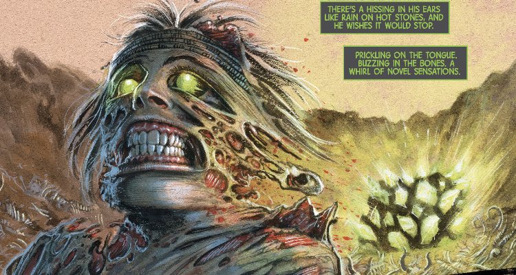 The Immortal Hulk: Time of Monsters #1 Gore and Horror