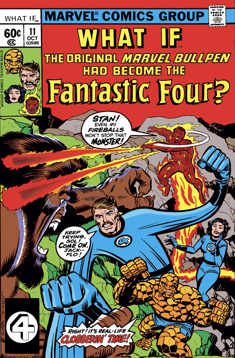 What If the Marvel Bullpen Had Become the FF