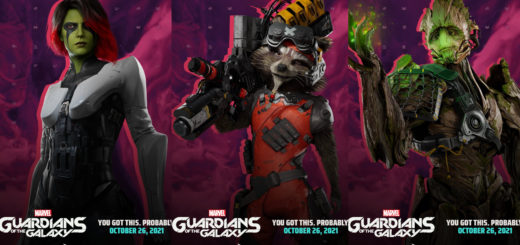 Gardens of the Galaxy Character Posters Cover