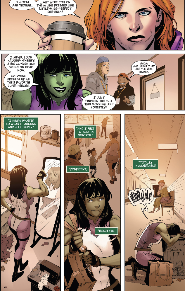 """""""Totally Invulnerable"""" in Marvel's Voices: Pride #1"""