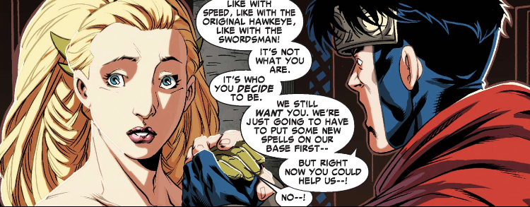 Enchantress and Wiccan in Dark Reign