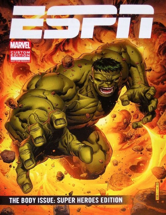 The Body Issue Super Heroes Edition ESPN