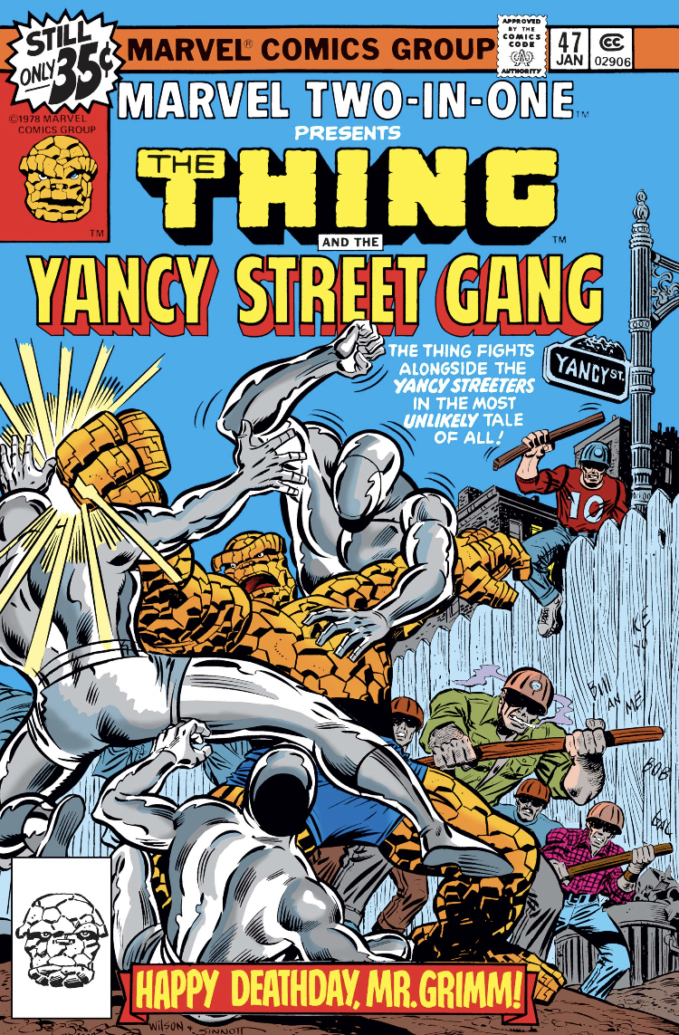 The Thing and the Yancy Street Gang
