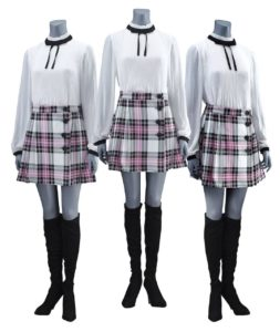 The Frost Sisters' Mission Costumes
