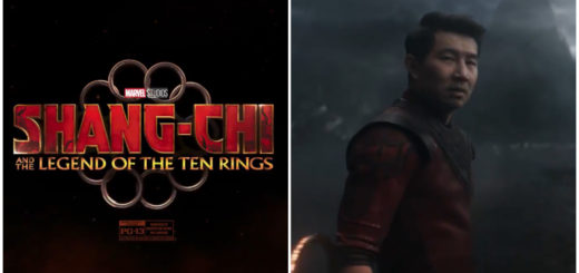 Shang-Chi and the Legened of the Ten Rings title card and Simu Liu