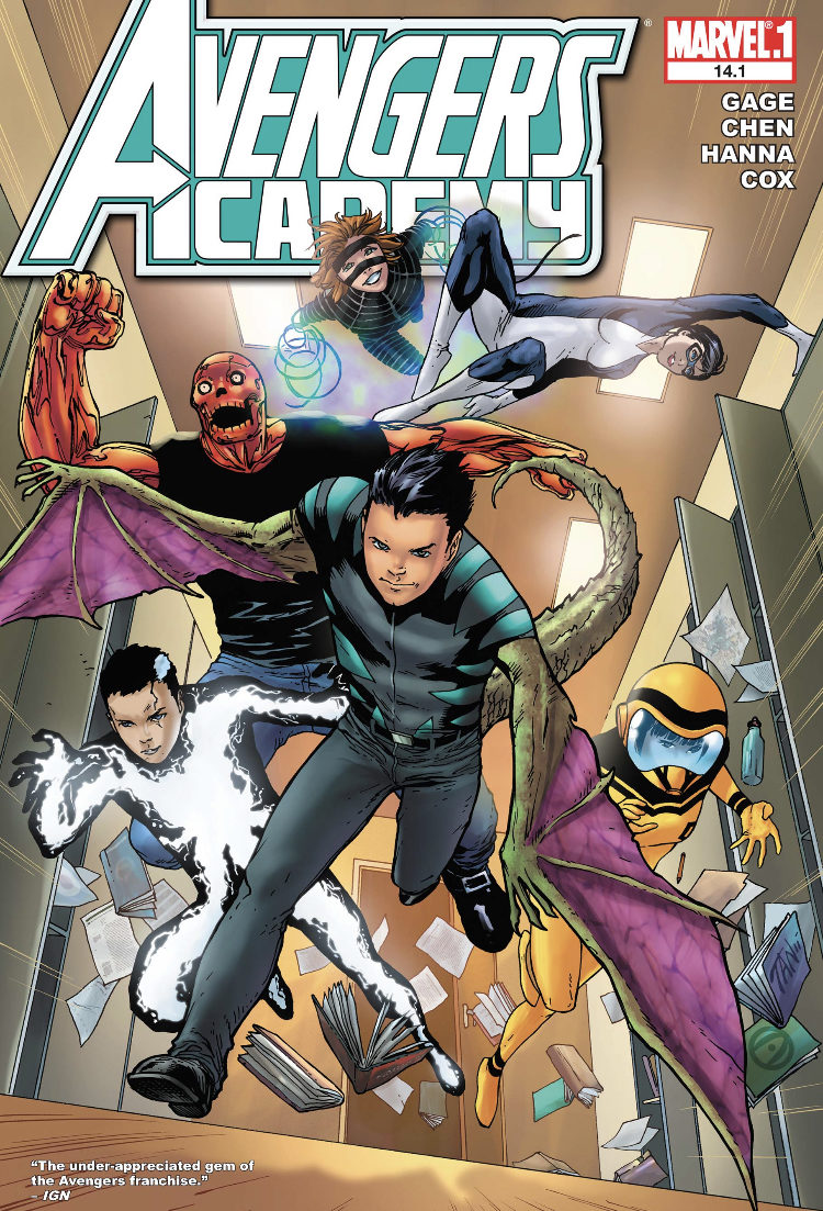 Avengers Academy 14.1 featurng Reptil
