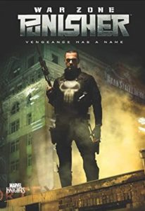 Punisher War Zone DVD Cover featuring The Punisher