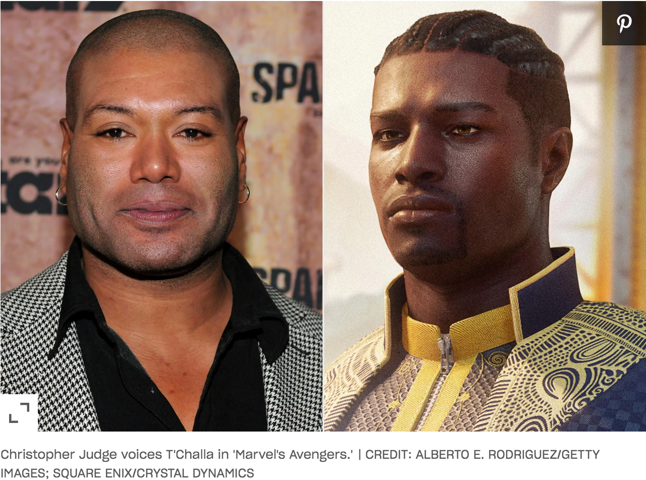 Christopher Judge as Black Panther in Marvel's Avengers
