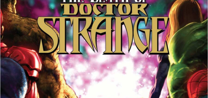 DEATH OF DOCTOR STRANGE #2 cover by Kaare Andrews
