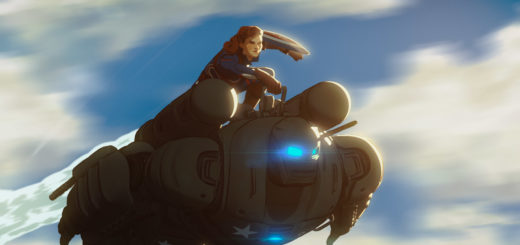 What If Captain Carter flying on the Hydra Stomper