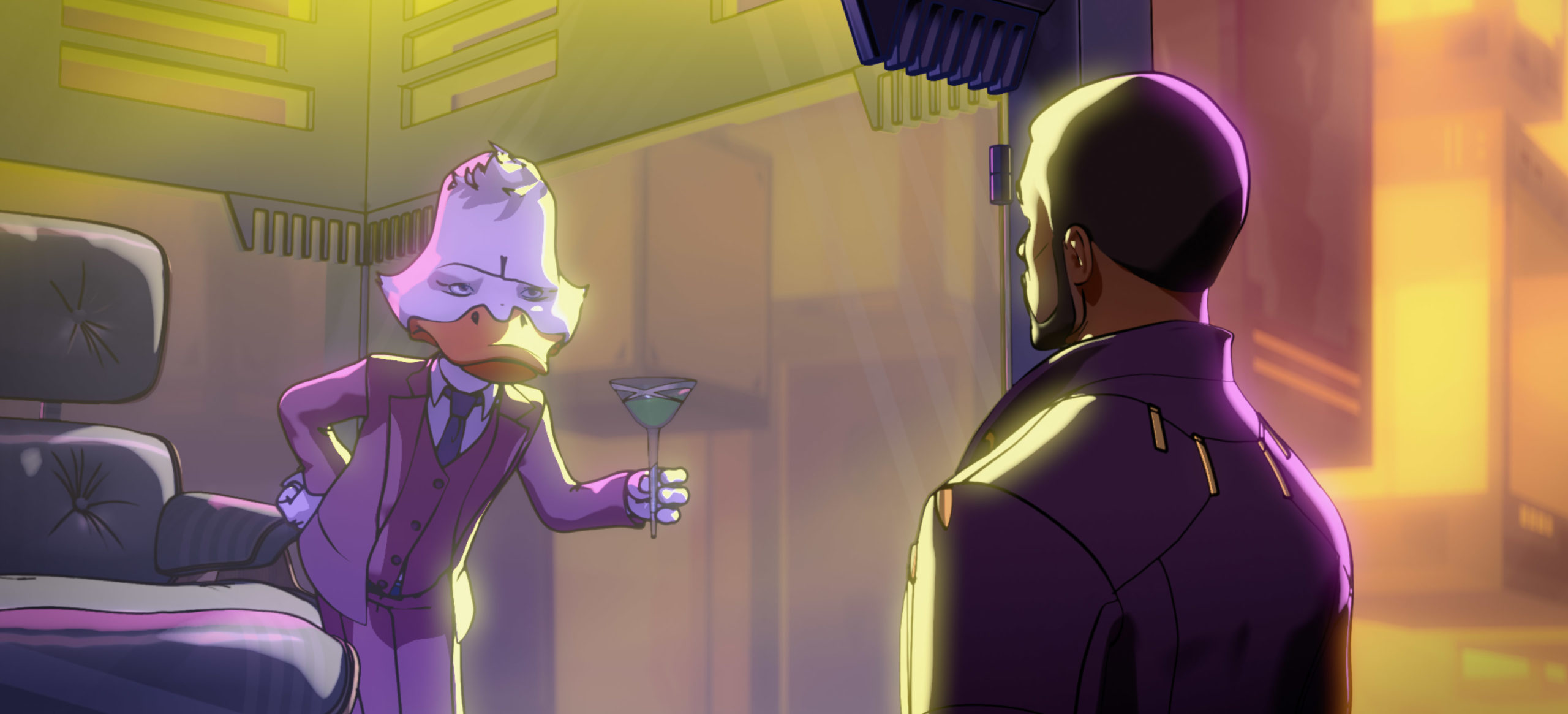 Howard the Duck and Star-Lord