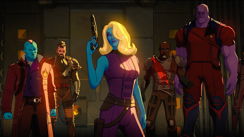 T'Challa's Ravagers rescuing Star-Lord