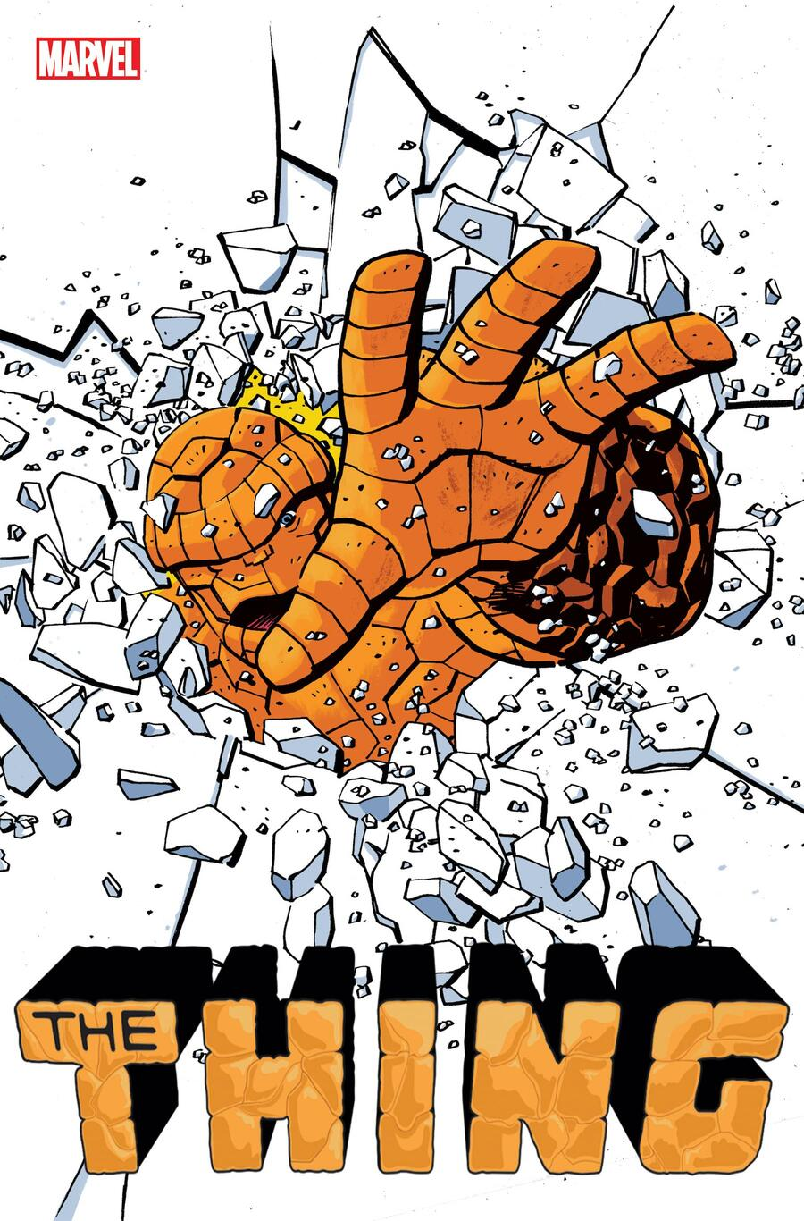 THE THING #1 cover by Tom Reilly