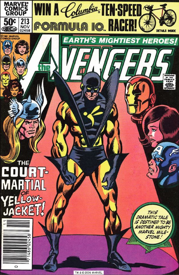 The Court Martial of Yellowjacket