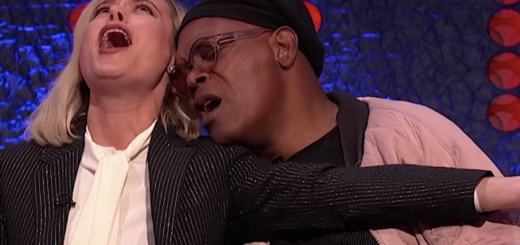 Brie Larson and Samuel L Jackson on 'The Jonathan Ross Show'