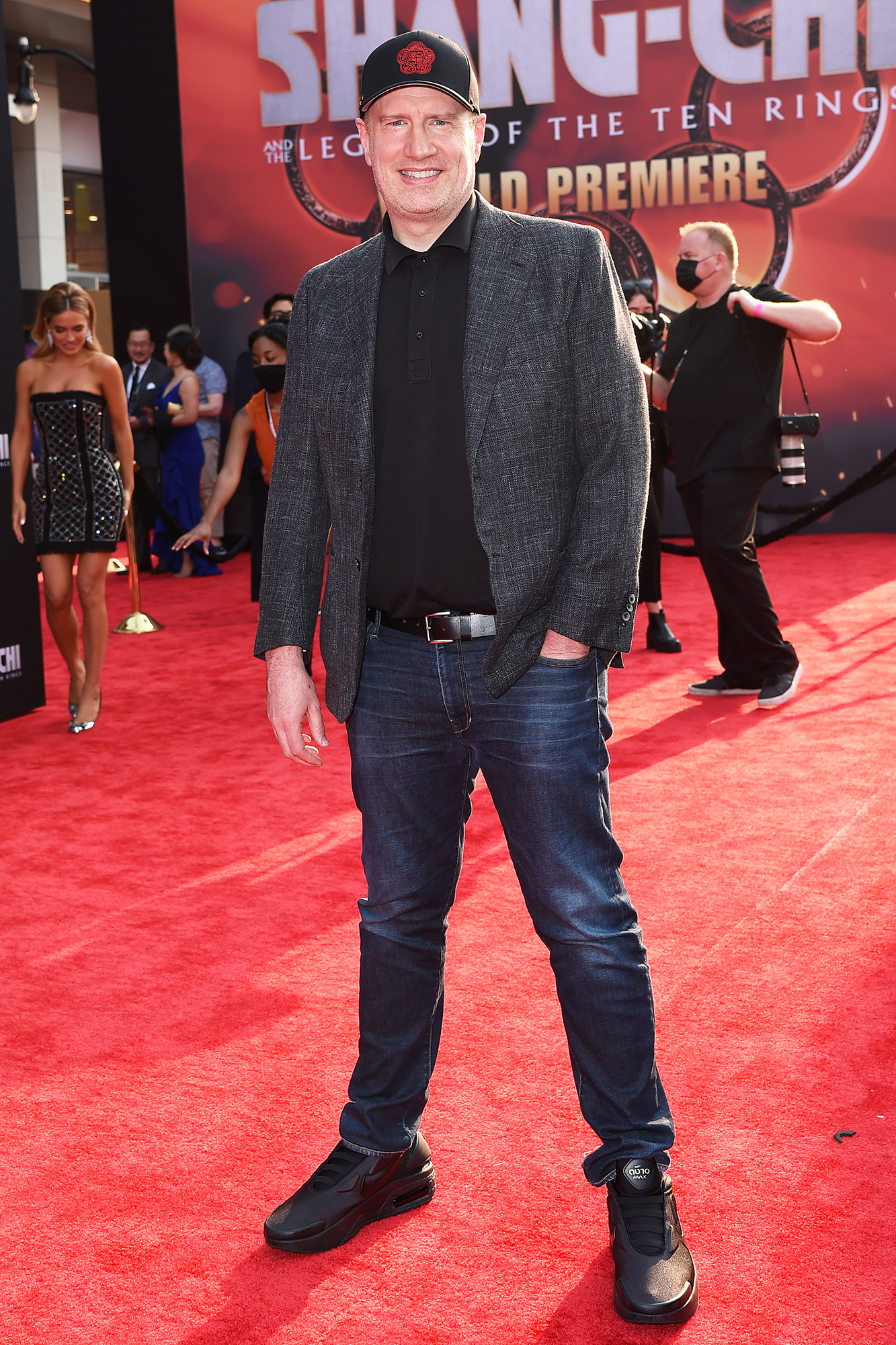 """MarvelBlog News Kevin Feige attends Disney's Premiere of """"Shang-Chi and the Legend of the Ten Rings"""" at El Capitan Theatre"""