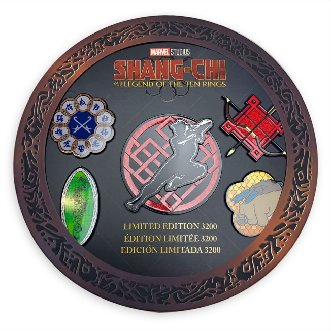 Marvel Studios Shang-Chi and the Legend of the Ten Rings Limited Edition Pins