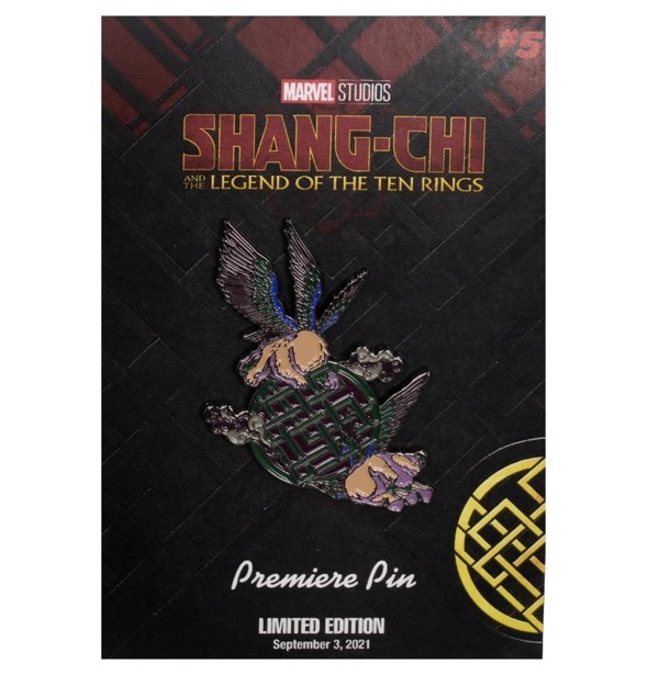 Marvel Studios Shang-Chi and the Legend of the Ten Rings Morris Premiere Pin