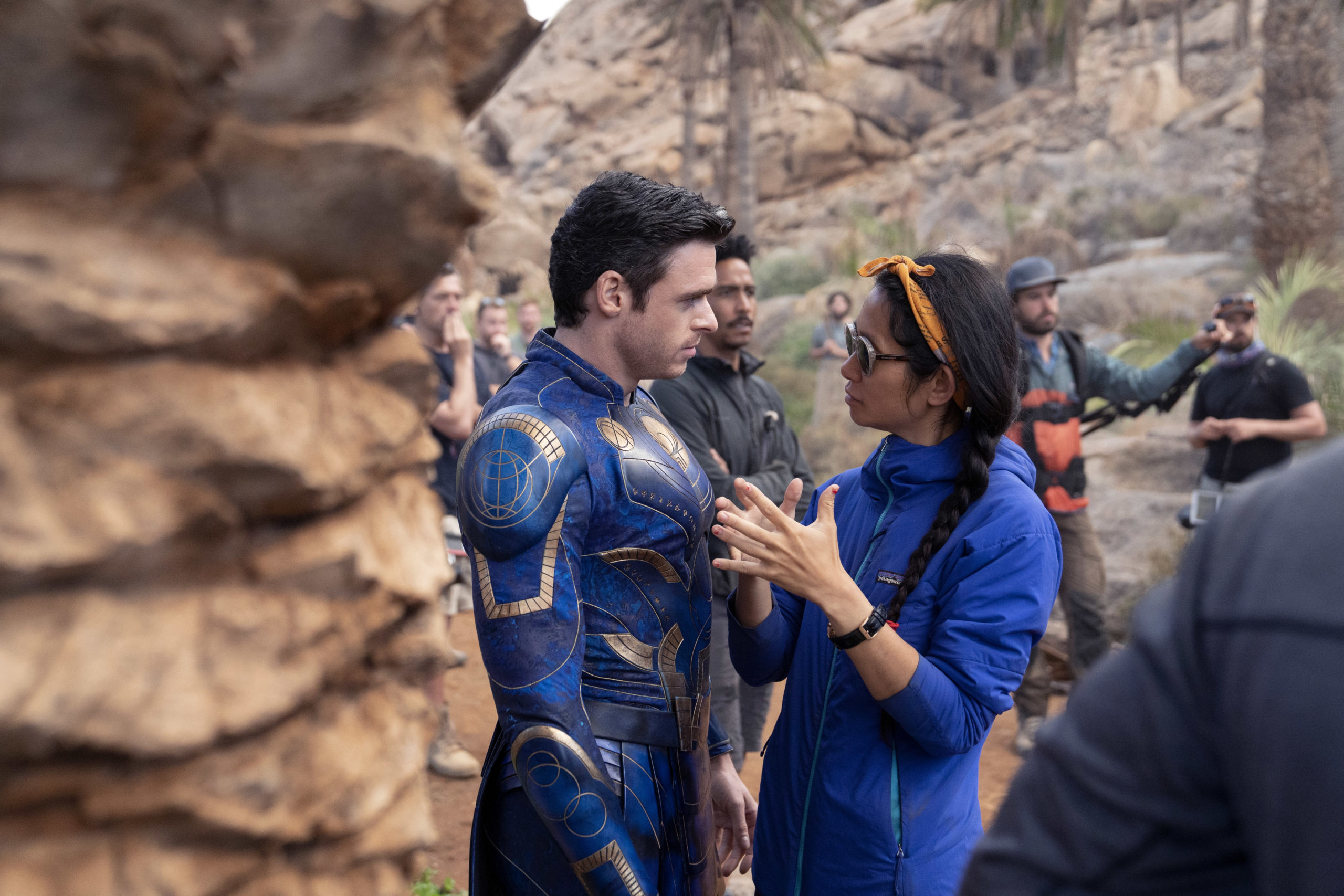 Chloe Zhao with Richard Madden Get Your Eternals Tickets