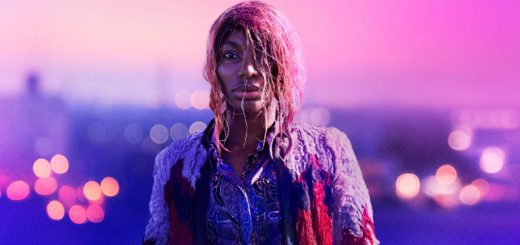 Michaela Coel (Black woman with pink hair) in I May Destroy You