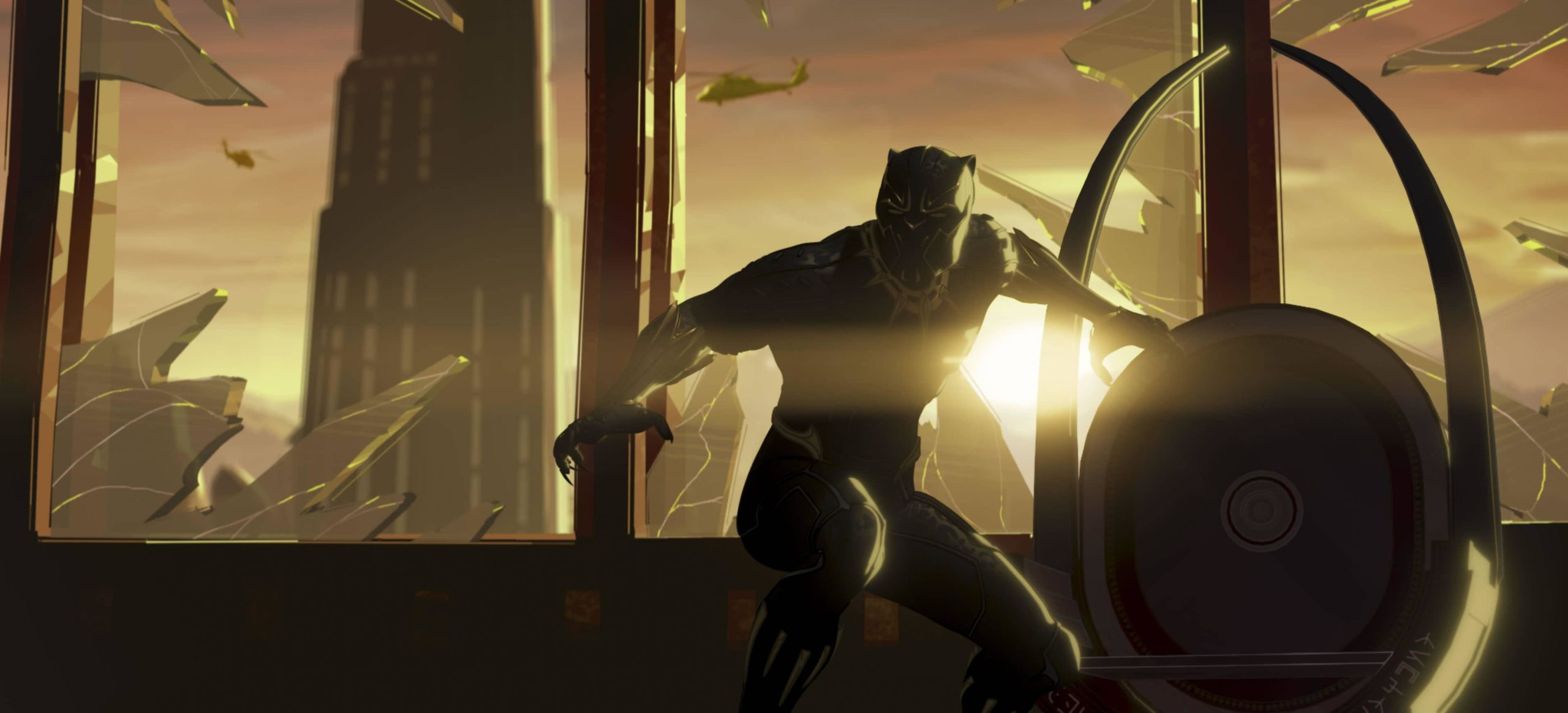 Black Panther in Marvel Studios' WHAT IF…?