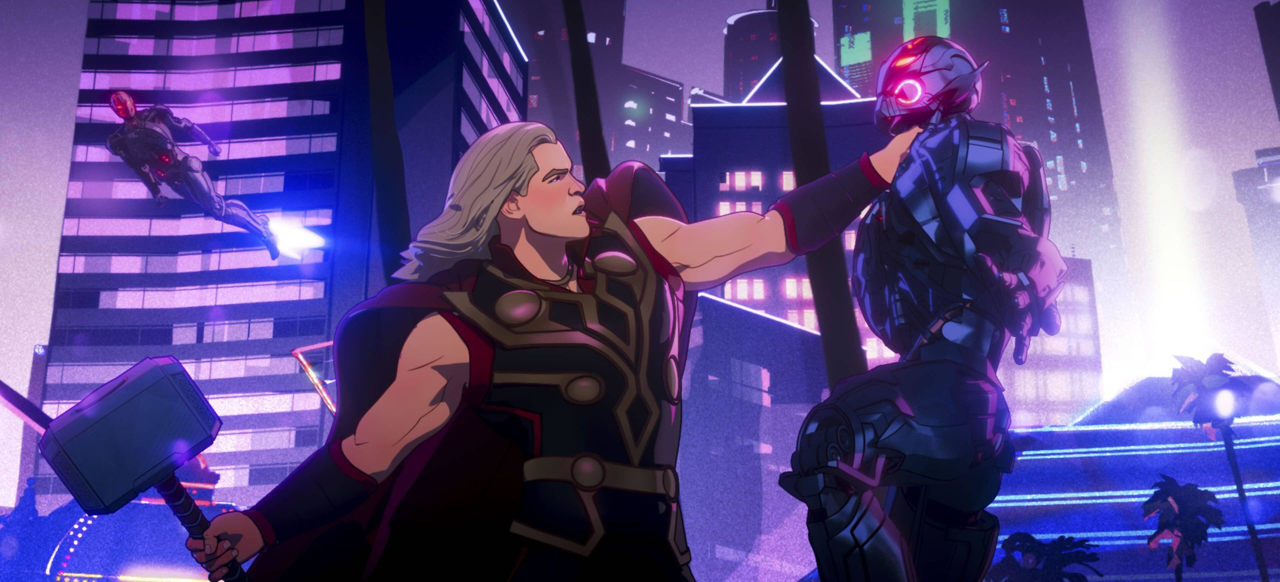 Party Thor and Ultron in Marvel Studios' WHAT IF…?