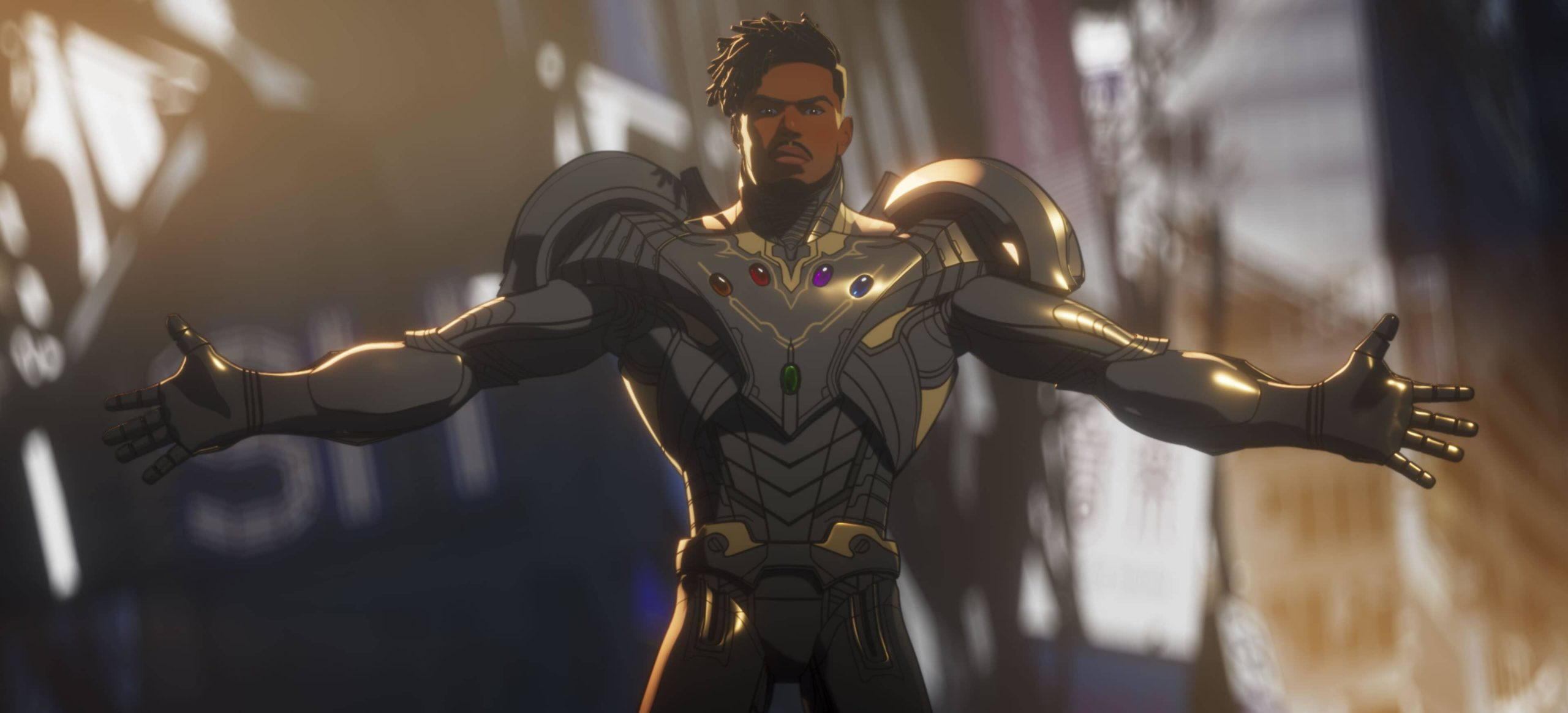 Military Special Ops Killmonger in Marvel Studios' WHAT IF...?