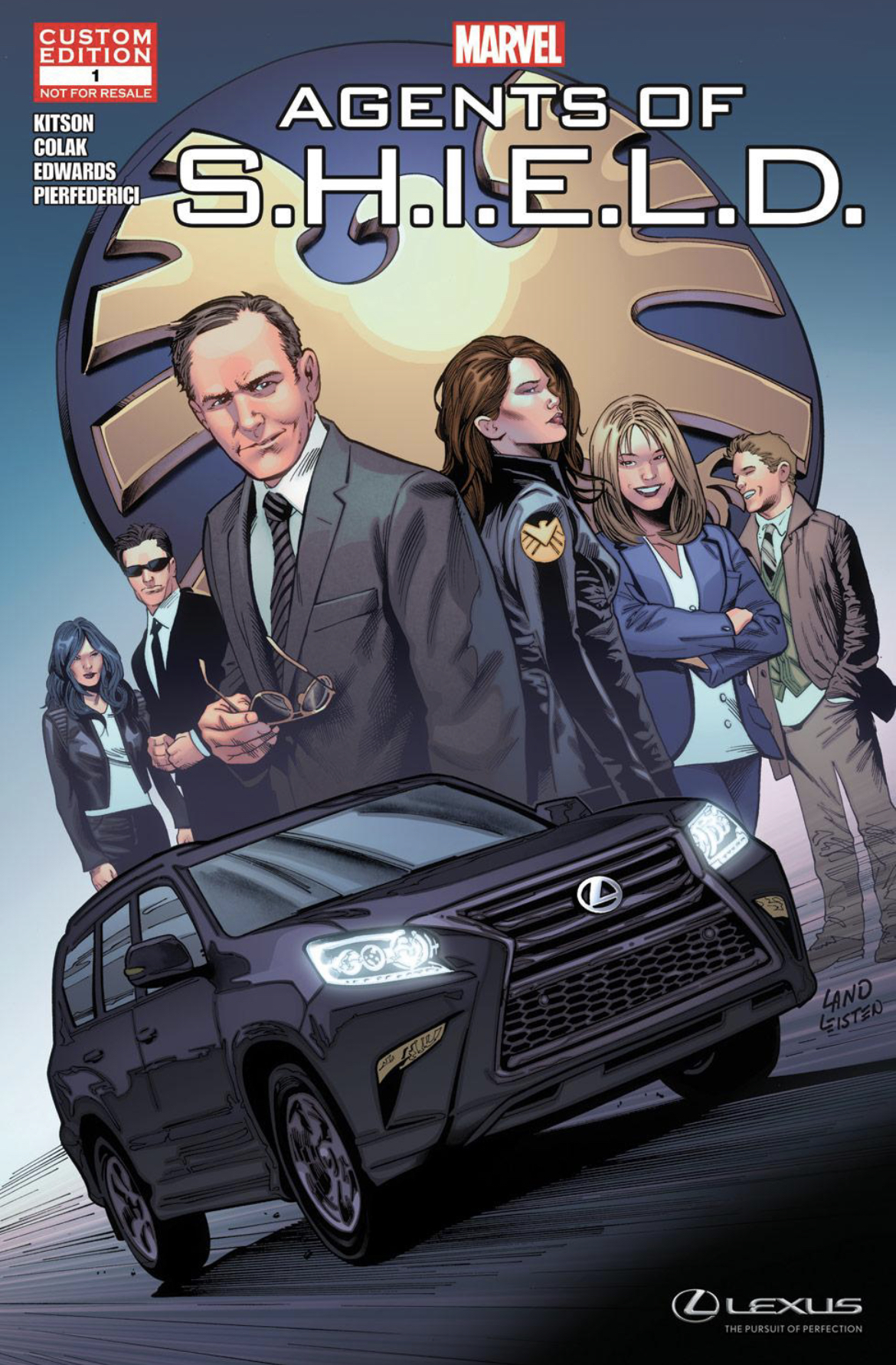 Lexus Presents: Marvel's Agents of S.H.I.E.L.D in the Chase