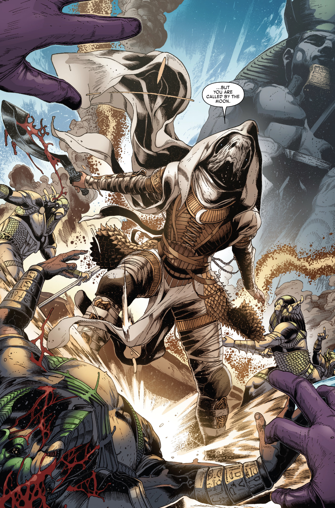 Moon Knight in Kang the Conqueror #2