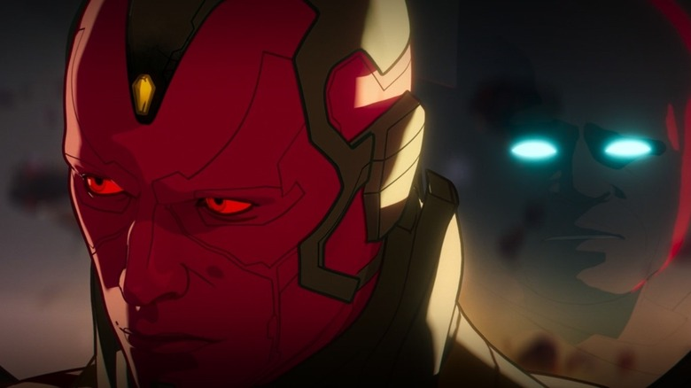 Infinity Ultron/Vision hears The Watcher