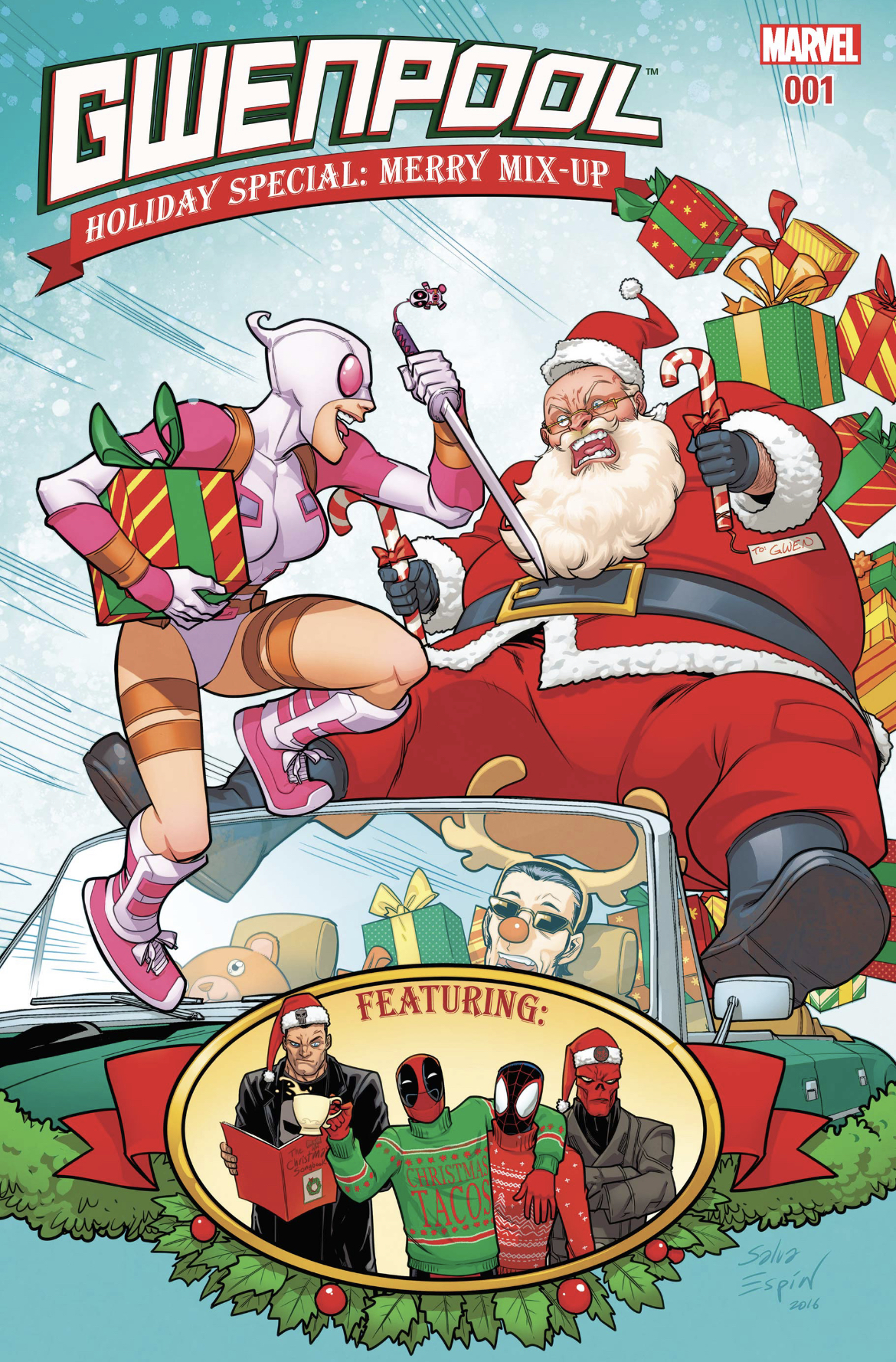 Gwenpool Holiday Special: Merry Mix-Up (2016)