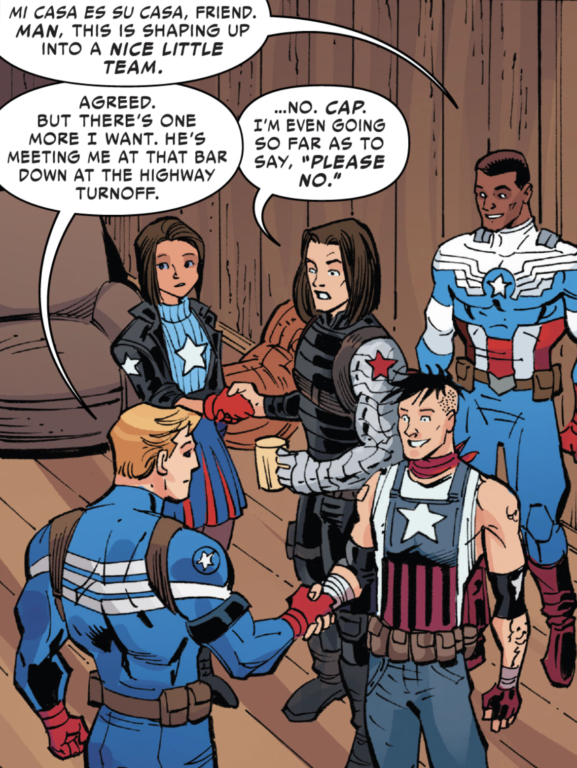 The United States of Captain America #4