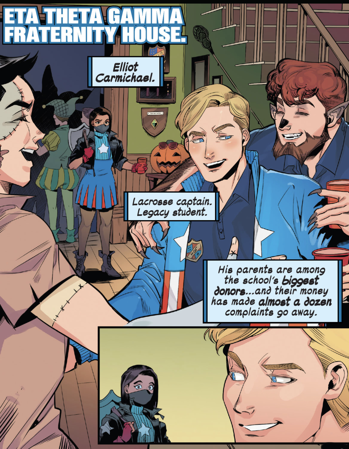 Captain America fights against sexual assault