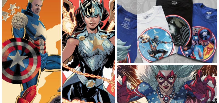Captain America 80th Variant Covers