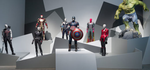 Marvel: Creating the Cinematic Universe Gallery of Modern Art Level 1 galleries installation view