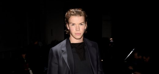 Will Poulter during the Dunhill Menswear Fall/Winter 2020-2021 show