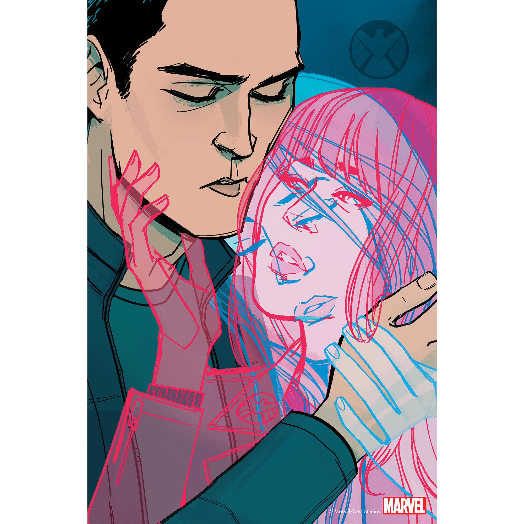 Marvel's Agents of S.H.I.E.L.D. ''Love In The Time of Hydra'' Print – Limited Edition