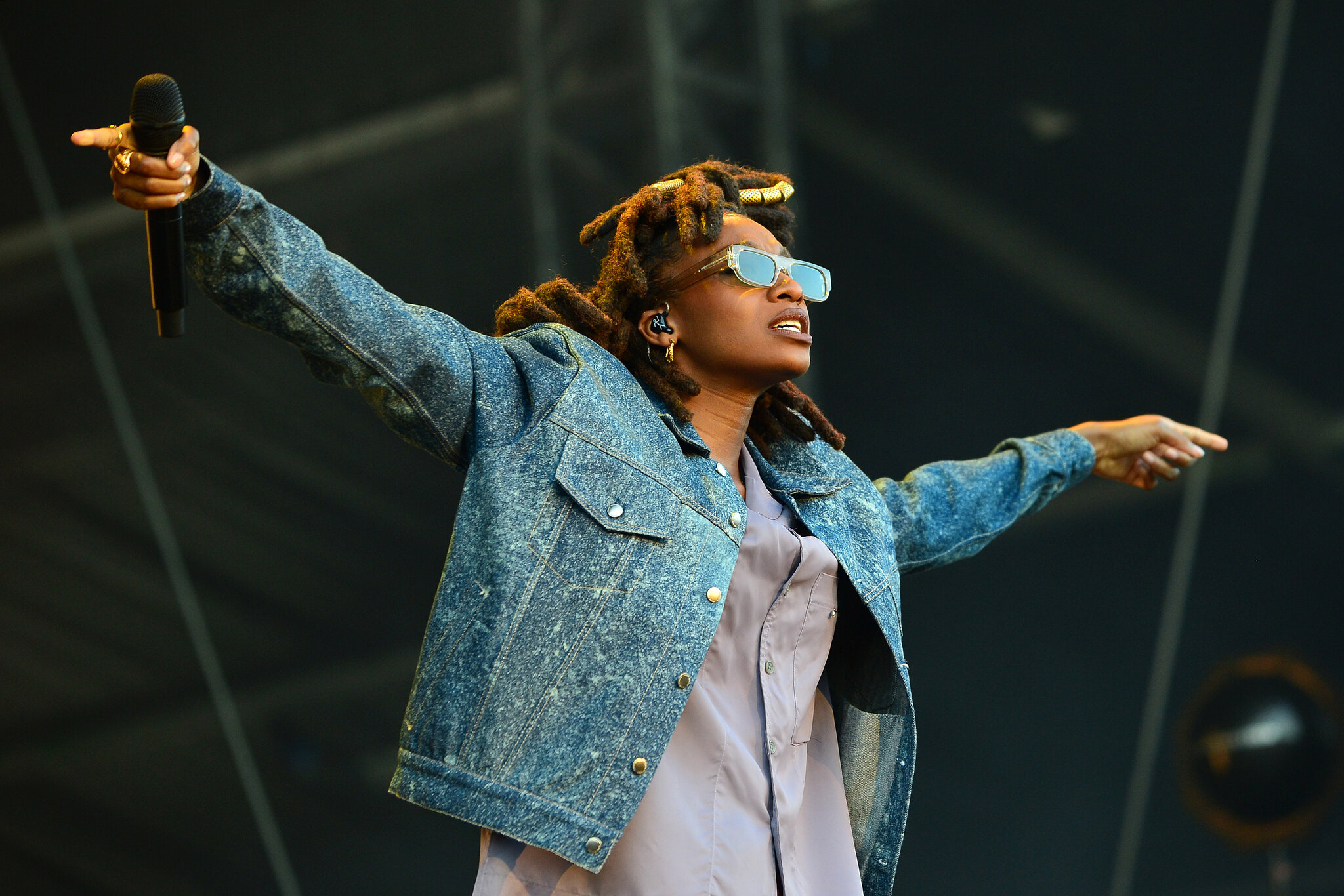 Little Simz on stage